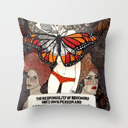 Occupy Throw Pillow