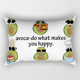 avoca-do what makes you happy Rectangular Pillow
