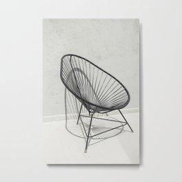 La silla acapulco Metal Print