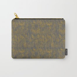 Linen Wash Grey Carry-All Pouch