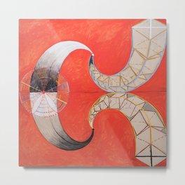 "Hilma af Klint ""The Swan, No. 09, Group IX-SUW"" Metal Print"