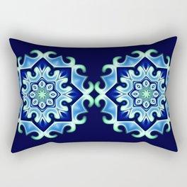 Ice flower Rectangular Pillow