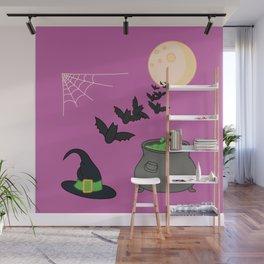 Halloween illustration Wall Mural