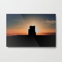 Brien's Tower At Sunset Metal Print