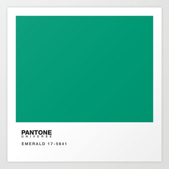 Pantone 17-5641 Art Print