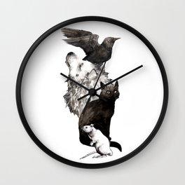 Predators Wall Clock