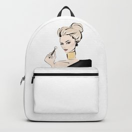 Makeup girl Backpack