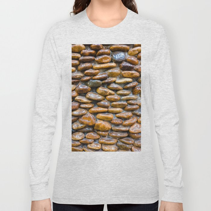 Texture on the wall Long Sleeve T-shirt