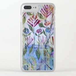 Floribunda Clear iPhone Case