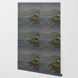 Cottages by the Sea WC160607o-15 Wallpaper