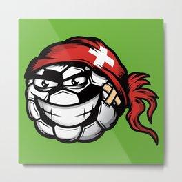 Football - Switzerland Metal Print