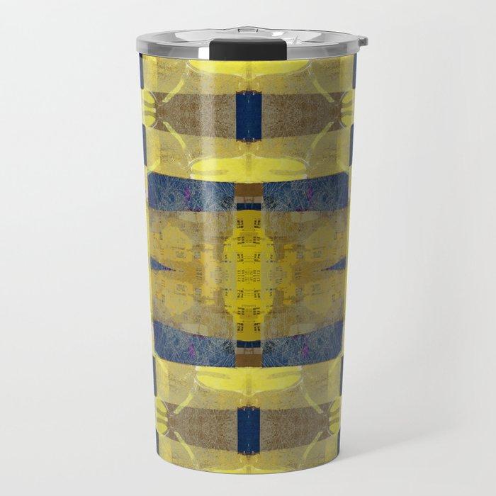 first sunrays_pattern_no2 Travel Mug