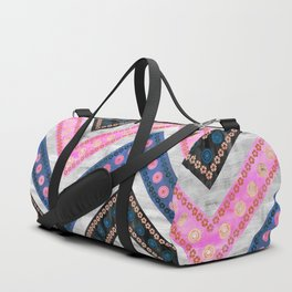 Bali Bali Chevron Multi Duffle Bag