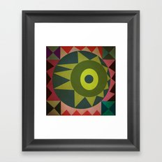 geometric Framed Art Print