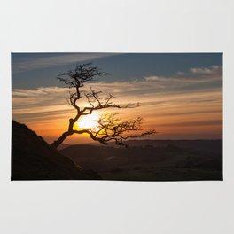 Black Mountain tree Rug
