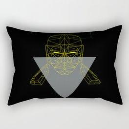polygon head Rectangular Pillow