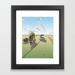 UNTITLED 2007 - color Framed Art Print