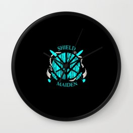 Valkyrie Girl Wall Clock