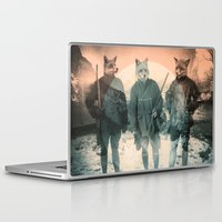 michael jackson Laptop & iPad Skins featuring Fox Hunt by Chase Kunz