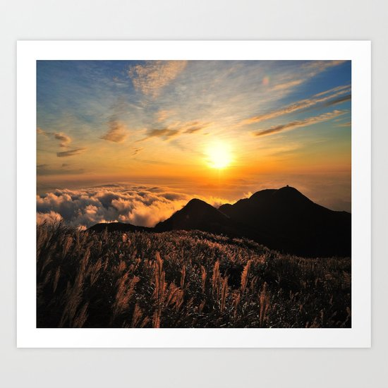 sunrises Art Print