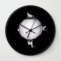 marauders Wall Clocks featuring Marauders Moon by srw110