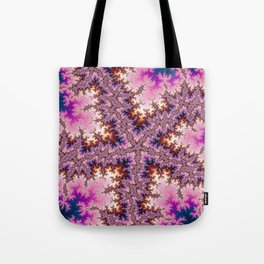 Fractal Starfish Tote Bag