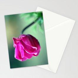 Anemone Bud Stationery Cards