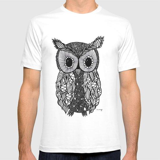 crazy owl T-shirt