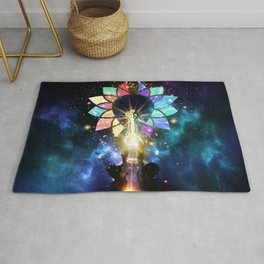 Kingdom Hearts - Combined Keyblade Rug