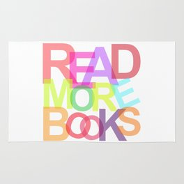 READ MORE BOOKS Rug