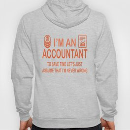 I'm an Accountant Hoody