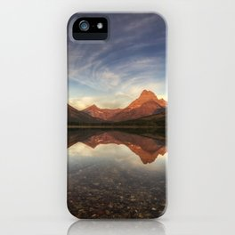 Many Glacier Zen iPhone Case