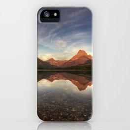Many Glacier Zen iPhone Case
