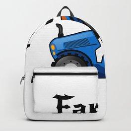 Farmer Tractor For Men Women Farmer Gifts Backpack