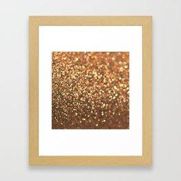 Summer Bronze Framed Art Print