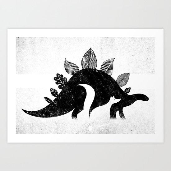 Nature's beasts Art Print