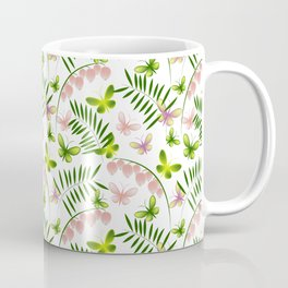 Pinkbells & Butterflies Coffee Mug