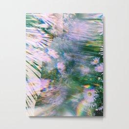 Flower Distortion Metal Print