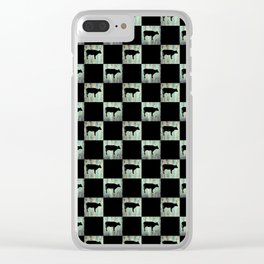 COW CHECK Clear iPhone Case