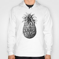 ornate Hoodies featuring Ornate Pineapple by BIOWORKZ