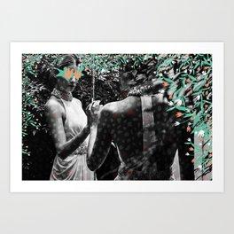Rawr Art Print