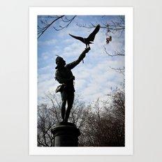 Fly, fly away Art Print