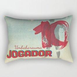 Color Soccer Rectangular Pillow