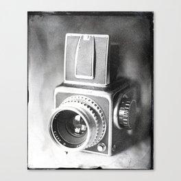 Hasselblad Camera Tintype Canvas Print