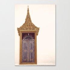WINDOW SERIES - LAOS Canvas Print