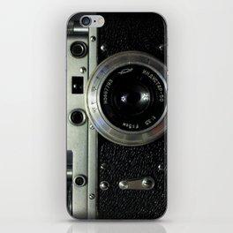 Vintage analog camera iPhone Skin