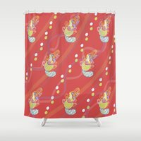 platypus Shower Curtains featuring Platypus by Sarah Hedge