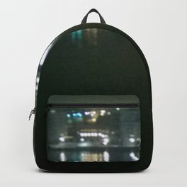 Hazy Stockholm waking up Backpack