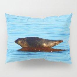 Wet Seal on a Rock Pillow Sham