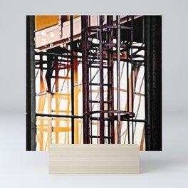 burning glases Mini Art Print